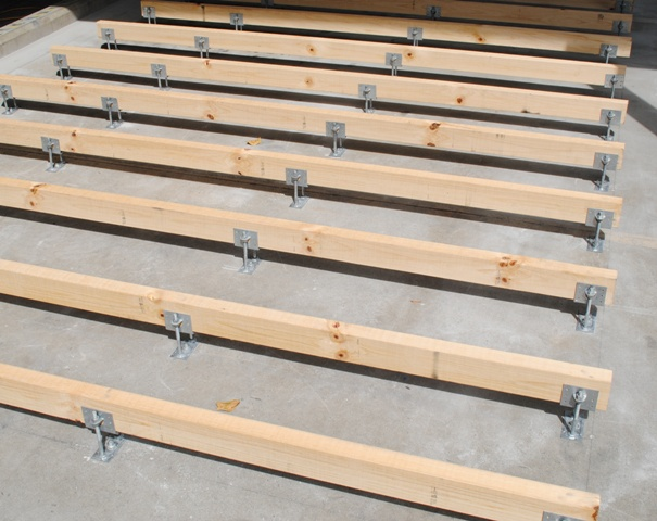 Adjustable Brackets Deck Joist Support Pictures To Pin On